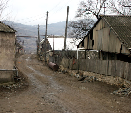 Armenian village that World Vision is working in