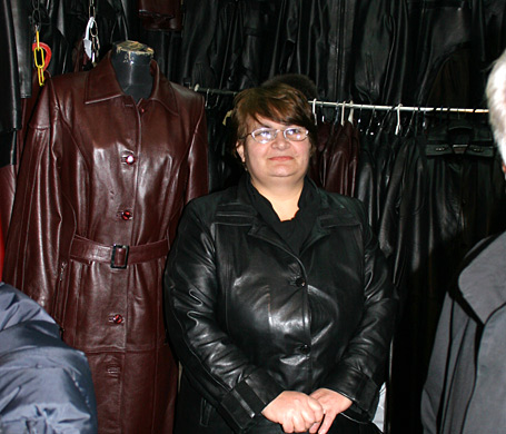 Leather vendor