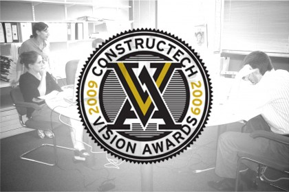 Tocci wins special Team Award from Constructech Magazine