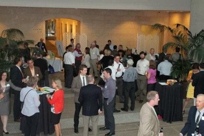 USGBC MA Chapter Sends off Summer with a Toast.