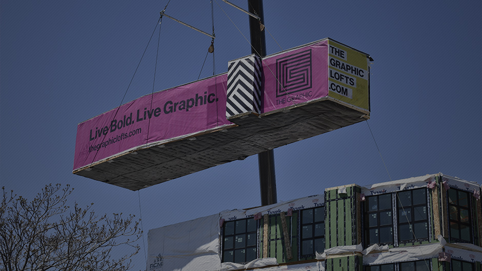 Modular Construction at The Graphic