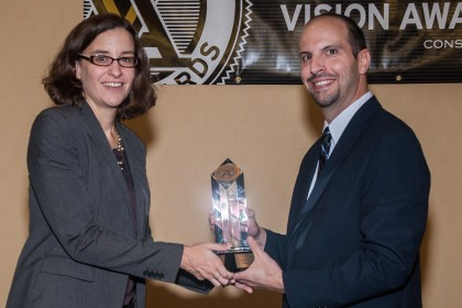 Tocci Wins Constructech Magazine's 2012 Vision Gold Award