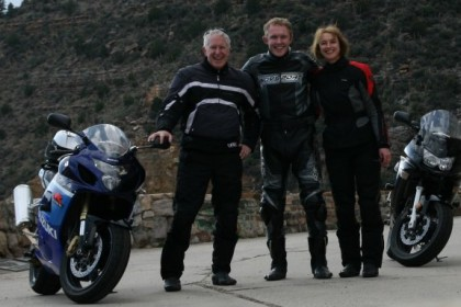 Motorcycling Makes Team Players