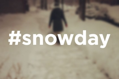 The Scoop: What Did Your #snowday Look Like?