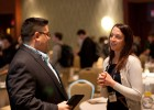 Tocci employees socialize between sessions at Boston's BIMForum 2014