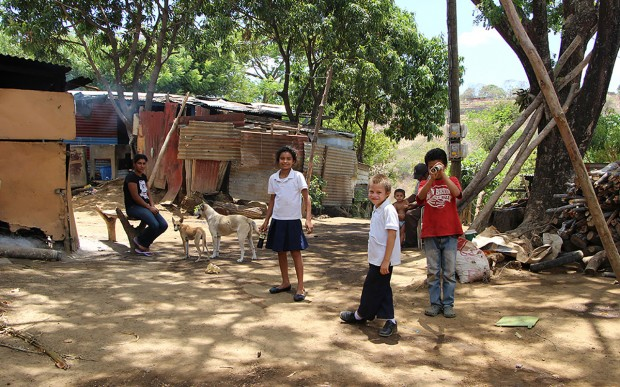 Residents of Barrio Morales