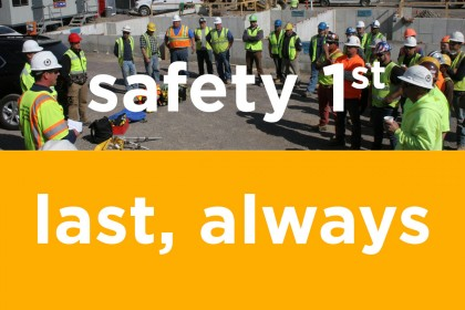 Tocci Awarded 22nd Consecutive Safety Award