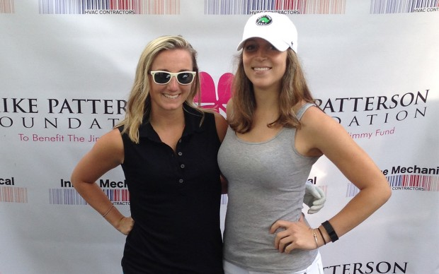 Maria + Tia at the Mike Patterson Golf Invitational