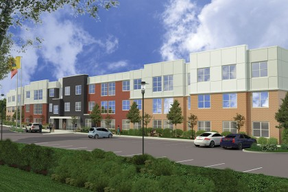 Tocci Breaks Ground on 66,000 sf Apartment Building in Secaucus, NJ
