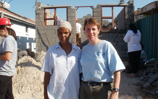 Johan on her trip to South Africa