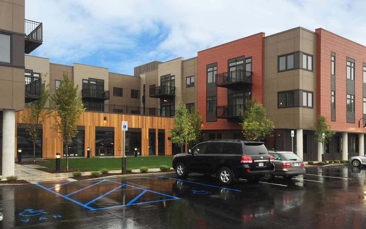 Exterior: Ribbon Cutting At Brookside Square