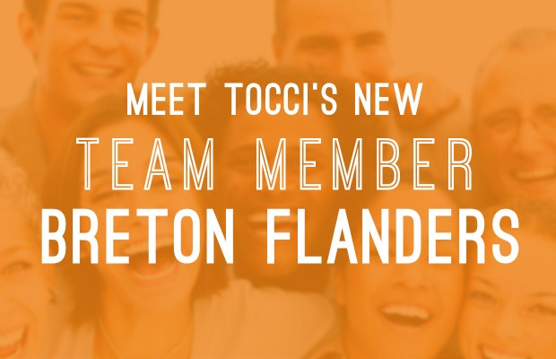 Breton Flanders Joins Tocci as Project Executive/Director of Construction