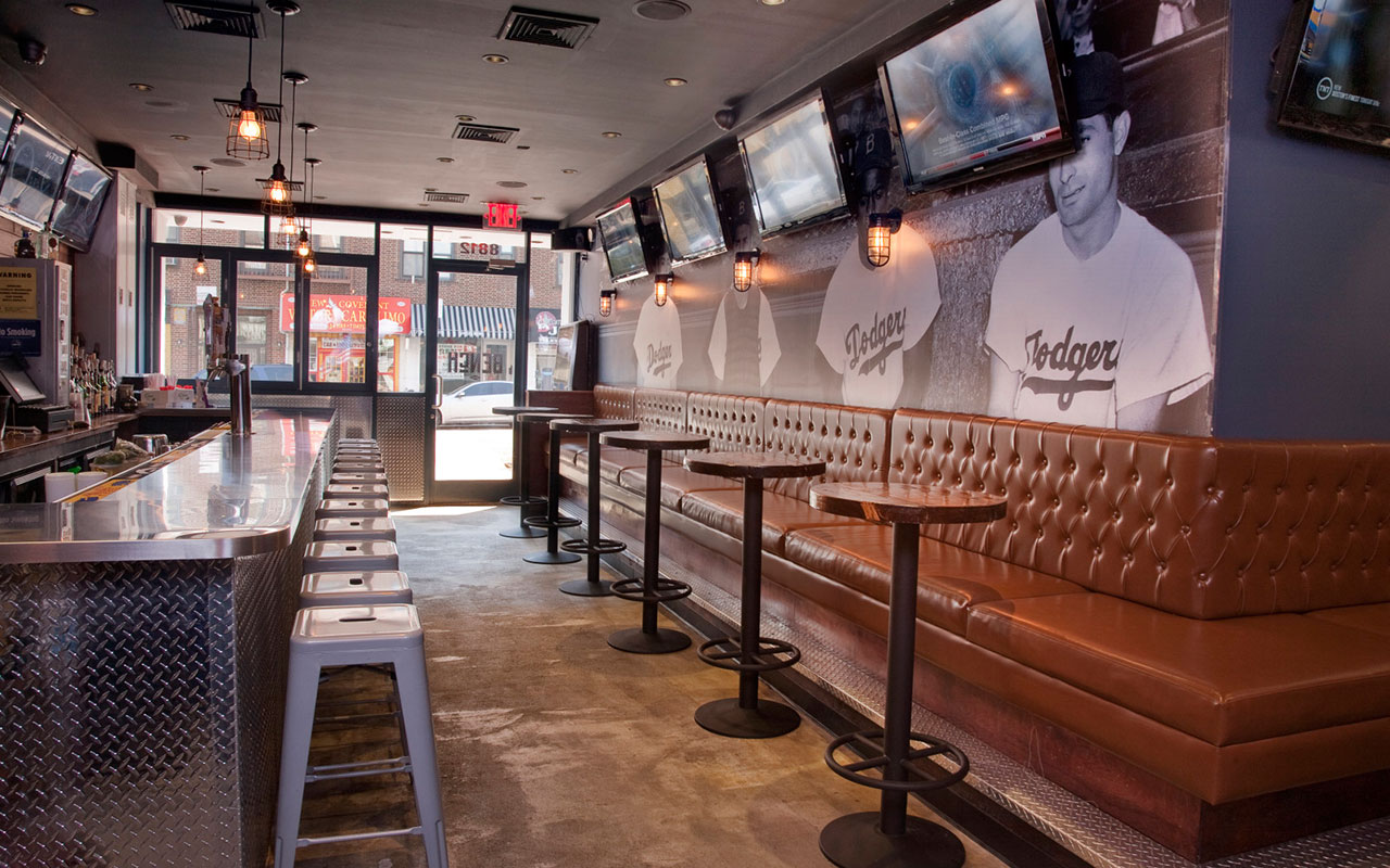 The scoop where to catch the big game tocci building for Sports bar interior design ideas