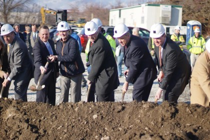 Tocci Breaks Ground on Hilton Homewood Suites in Worcester, MA