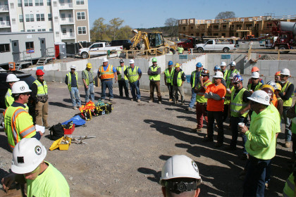 Tocci Building Companies Encourages Wellness at the Jobsite