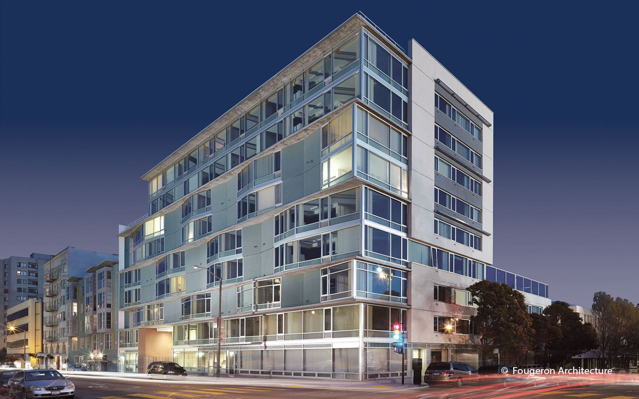 The scoop affordable housing with high design tocci for 260 parkview terrace oakland ca