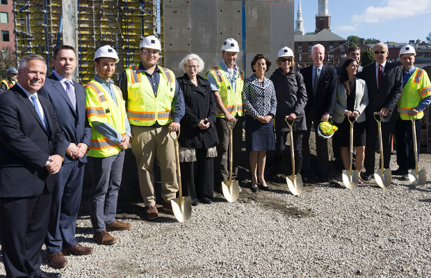 The Scoop: Official Groundbreaking at Hilton Homewood Suites, RI