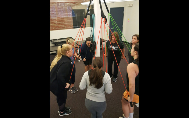 Weekly Low-Intensity resistance band training classes by BAM