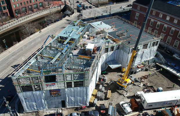 The Scoop: Progress at Homewood Suites Providence