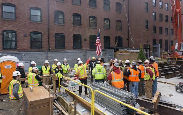 88 Wareham Topping Off Ceremony