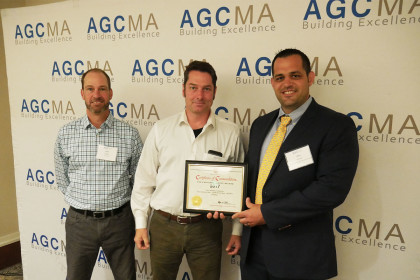 Tocci Awarded 2017 AGC Safety Award for 24th Consecutive Year