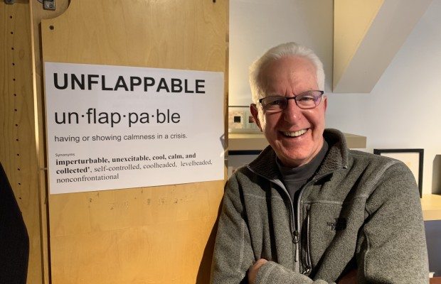 Unflappable: Calmness in a Crisis