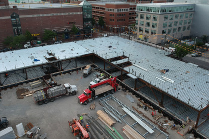 Construction Tops Off at Kendall East